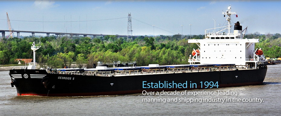 Established in 1994 - Over a decade of experience leading manning and shipping industry in the country
